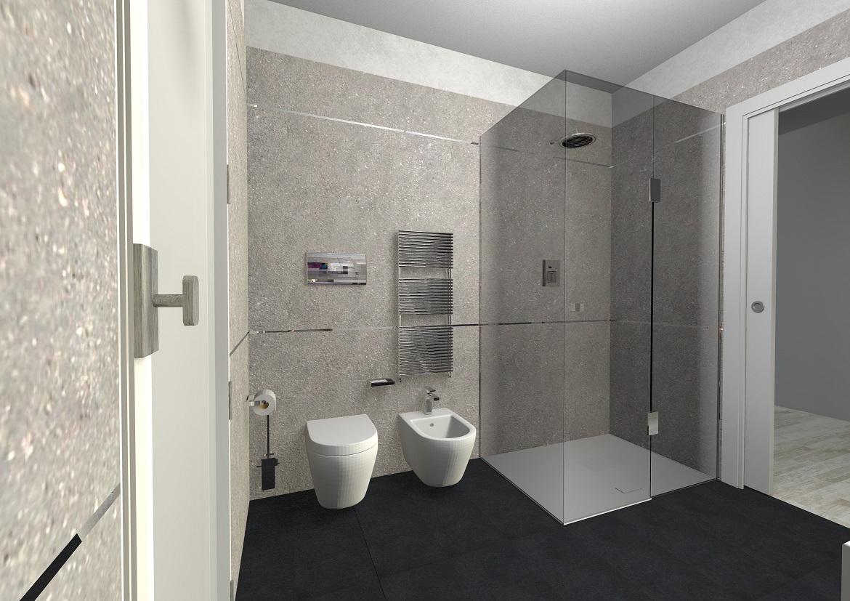 Progetto arredo bagno beppe liotta for Progetto arredo