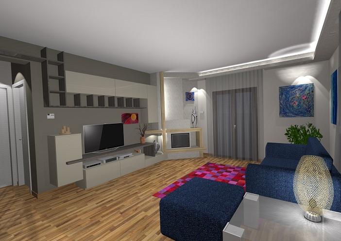 Progetto soggiorno beppe liotta for Progetto soggiorno